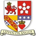 Click for larger image. Angus Scotland coat of arms