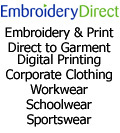 Embroidery Direct, Embroidery Direct - DTG Direct to Garment Printing T-Shirts Towels Caps Bags England Wales UK Irish Republic , Flintshire
