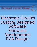 Compact Control Design, Compact Control Design - Custom Electronic Circuit Board Design England Scotland Wales UK Irish Republic , Down