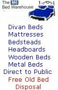 M6 Bed Warehouse, The M6 Bed Warehouse - Divan Beds Leather Beds Metal Bedsteads Wooden Beds FREE Delivery - FREE Old Bed Disposal Alsager - Cheshire, Cheshire Knutsford