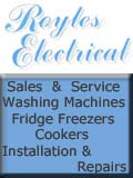 Royles Electrical , Royles Electrical - Washing Machines Fridge Freezers Electric Gas Cookers Macclesfield - Cheshire , Cheshire Alderley Edge