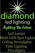 Diamond Electronics Ltd., Diamond Electronics - Low Energy Lighting LED Lights Bulbs England Scotland Wales UK Northern Ireland Irish Republic, Down