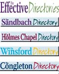 The Effective Directories, The Effective Directories Delivered Monthly to 29,000 Homes & Businesses in Sandbach Congleton Holmes Chapel Winsford, Cheshire Holmes Chapel