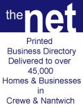 The Net Crewe and Nantwich, The Net Crewe and Nantwich Cheshire delivered to 45,000 homes monthly, Cheshire Nantwich