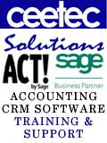 Ceetec Solutions, Ceetec Solutions - ACT! Database CRM and Sage Financial Software Consulants Training and Support Altrincham Cheshire, Manchester Oldham