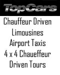 TopCars (UK) Ltd, Chauffeur Driven Limousines and Range Rover 4x4 Off Road tours Macclesfield Cheshire North West England, Staffordshire Eccleshall