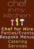 Chef in My Kitchen, Chef in My Kitchen - Private Chef for Hire to Cook in your Kitchen Dinner Parties Recipies Runcorn Cheshire, Cheshire Warrington