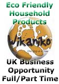 Wikaniko, Wikaniko - Eco friendly, organic and environmentally responsible products - UK Business Opportunity - England Scotland Wales Northern Ireland, Devon Budleigh Salterton