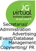 JG Virtual, JG Virtual - PA Virtual Assistant Secretarial Services PR Marketing - Crewe Cheshire, Manchester Wigan