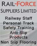 Rail-Force Suppliers Limited, Rail-Force Suppliers Ltd - Railway Staff PTS Training & Anti Slip products - England Scotland & Wales, Cleveland & Teeside