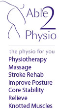 Able 2 Physiotherapy and Pilates, Able 2 Physio Physiotherapists Stroke Rehab Sports Massage Injuries Neuro Physiotherapy Injuries Scar Reduction Posture Realignment Improving Mobility Exercises Core Stability Training Pilates Macclesfield Cheshire, Cheshire Alderley Edge