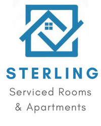 Sterling Serviced Rooms, Short Term Lettings Accommodation Room Hire Apartments Crewe Cheshire UK from Sterling Serviced Rooms, Cheshire Crewe