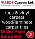 Wards Carpets, Wards Carpets - Wool Twist Carpets Wooden Laminate Vinyl Flooring Rugs Domestic Commercial - Lytham St Anne's Lancashire, Lancashire Kirkham