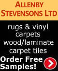 Allenby Stevensons Carpets, Allenby Stevenson Carpets - Wool Twist Carpets Wooden Laminate Vinyl Flooring Rugs Domestic Commercial - Grimsby North East Lincolnshire, Bedfordshire Flitwick