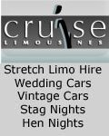 Cruise Limousines, Cruise Limousines - Stretch Limo Hire Wedding Cars - Biddulph Staffordshire UK , Cheshire Alderley Edge