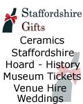 Staffordshire Gifts C/O The Potteries Mu, Staffordshire Gifts - Staffordshire Museums online collection Hoard Books Ceramics Tickets Events & Venue Hire Stoke-on-Trent, Staffordshire Cheadle