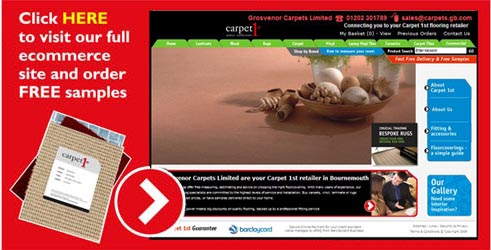 Barnes Carpets Carpet1st main website