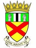 Click for larger image. Clackmannanshire Scotland coat of arms