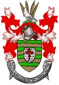 Click for larger image. Donegal Ireland Irish Republic coat of arms