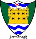 Click for larger image. Fermanagh Northern Ireland coat of arms