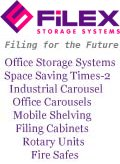 Filex Systems, office storage solutions including the amazingly effective space saving Times 2 System. Based in Staffordshire we cover the  UK.