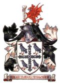 Click for larger image. Flintshire Wales coat of arms