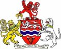 Click for larger image. Herefordshire England coat of arms