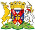 Click for larger image. Inverness-shire Scotland coat of arms