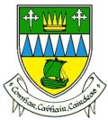 Click for larger image. Kerry Ireland Irish Republic coat of arms