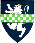 Click for larger image. Kirkcudbrightshire Scotland coat of arms