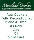 Moorland Cookers - Reconditioned 2 oven Aga Cookers, refurbished 4 oven gas, oil and solid fuel Aga cookers.