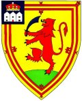 Click for larger image. Perthshire Scotland coat of arms