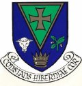 Click for larger image. Roscommon Ireland Irish Republic coat of arms