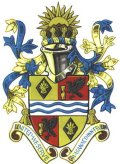 Click for larger image. Torfaen Wales coat of arms