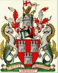 Click for larger image. Tyne and Wear England coat of arms