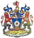 Click for larger image. West Yorkshire England coat of arms
